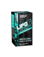 Nutrex Research, Жиросжигатель Lipo 6 Black Hers Ultra Concentrate, 60 капсул, 60 капсул