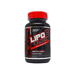 Nutrex Research, Жиросжигатель Lipo 6 Black Ultra Concentrate, 10 капсул