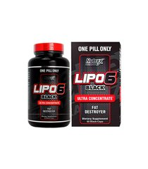 Nutrex Research, Жиросжигатель Lipo 6 Black Ultra Concentrate, 60 капсул, 60 капсул