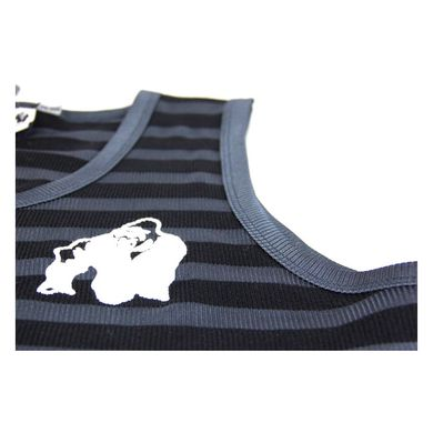 Gorilla Wear, Майка Stripe Stretch Tank Top Black