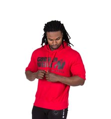 Gorilla Wear, Реглан Boston Short Sleeve Hoodie - Red