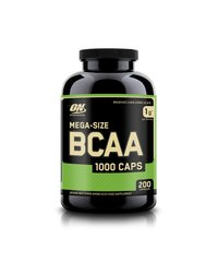 Optimum Nutrition, Бцаа BCAA 1000 Caps Mega-Size, 200 капсул
