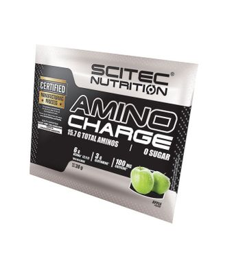 Scitec Nutrition, Аміно Amino Charge Pre- and Intra-Workout, 40 грам, 40 грам