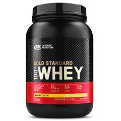 Optimum Nutrition, Протеин 100% Whey Gold Standard, 908 грамм, Банан, 908 грамм