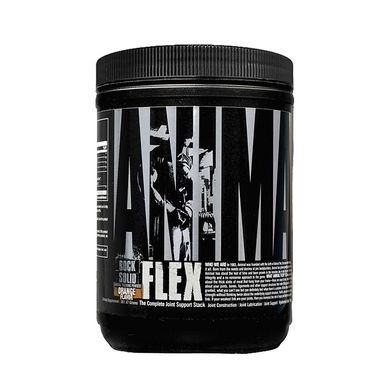 Universal Nutrition, Animal Flex Powder для суставов и связок, 380 грамм, Апельсин, 380 грамм