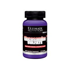 Ultimate Nutrition, Глюкозамин 500 мг, 120 капсул