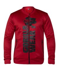Gorilla Wear, Реглан спортивный Ballinger Track Jacket Red/Black