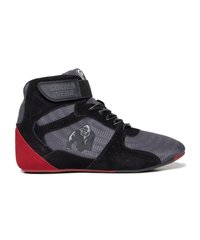 "Gorilla Wear, Кроссовки Chicago High Tops - Gray/Black/Red ""Limited"""