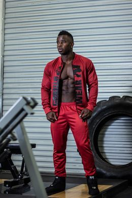 Gorilla Wear, Штаны спортивные Ballinger Track Pants Red/Black L