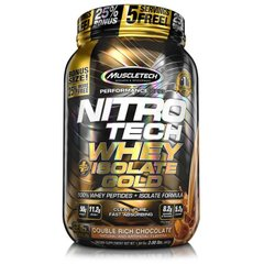 MuscleTech, Протеин Nitro-Tech Whey Plus Isolate Gold, 907 грамм