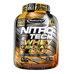 MuscleTech, Протеин Nitro-Tech Whey Plus Isolate Gold, 1800 грамм