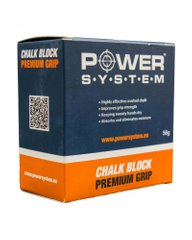 Power System, Магнезия спортивная Chalk Block PS4083, 56 грамм