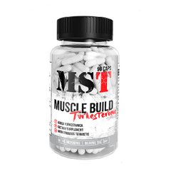 MST Sport Nutrition, Бустер тестостерона Muscle Build Turkesterone, 90 капсул